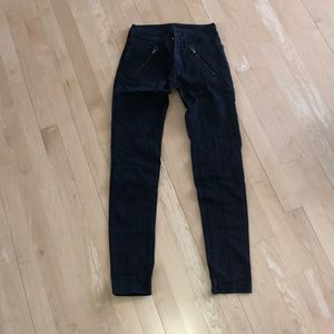 American Eagle Black Detailed Pant